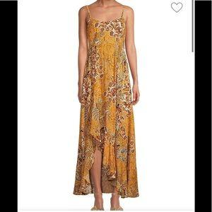 Free People  Smocked Slip Dress